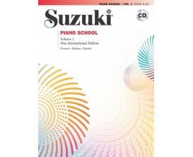 Suzuki piano School Vol. 1 - Book + CD - Alfred Publishing