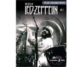 Play Drums With - The Best of Led Zeppelin Vol 1 (Avec 2 CDs) - Wise Publications