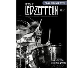 Play Drums With - The Best of Led Zeppelin Vol 2 (Avec 2 CDs) - Wise Publications