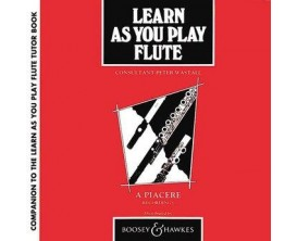 Learn as you play flute - Peter Wastall - Ed : A Piacere ( 2 cd's )