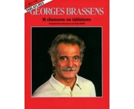 Georges Brassens (16 Chansons en Tablatures) - A. Vérité - Ed. Carisch