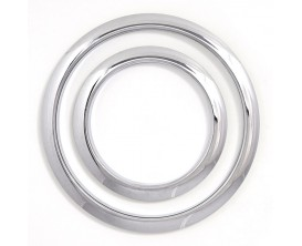 "GIBRALTAR SC-GPHP-4C Port Hole Protector, 4"", Chrome"