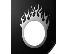 REMO DM-FL05-10 Flame Bass Drum Hole