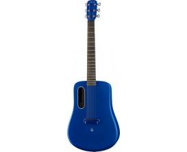 LAVA LA-0011 - Lava ME 2 BL Freeboost - Guitare électro-acoustique moulée, Super airsonic fibre de carbone, Finition : Bleu