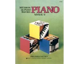Méthode de piano Bastien - Piano Vol 3