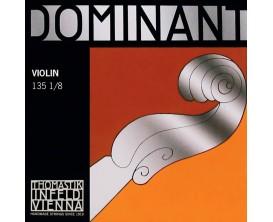 THOMASTIK - TH-135-18 Thomastik Dominant jeu de cordes violon 1/8