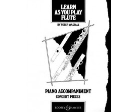 Learn as you play flute - Peter Wastall - Boosey & hawkes