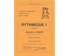 Rythmique 1 en clé de sol - Jacqueline Lambert - Ed. Brauer