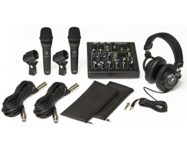 MACKIE - RMK PERFORMER-BUNDLE - Pack console, 2 micros, casque