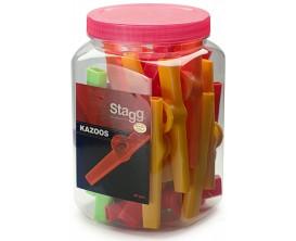 STAGG Kazoo plastique, différentes couleurs