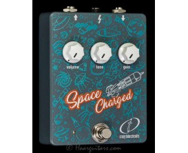 CRAZY TUBE CIRCUIT Space Charged V2 - 12AX7 Tube Overdrive (Alim fournie)