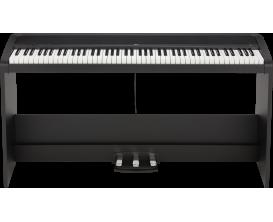 KORG - KRB2SPBK - KORG Piano numérique, B2+Stand, 12 sons, 2x 15 W, Noir