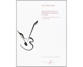 LIBRAIRIE - Exercices Pour Les Premières Années De Guitare - Erik Marchelie