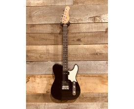 MAE WEST METLB - Guitare électrique type Tele Vintage Custom, corps aulne massif, manche et touche érable, 2 micros simples, Noi