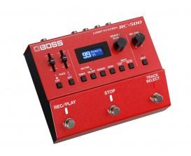 BOSS RC-500 - Loop station deux pistes évoluées avec une qualité de son haut de gamme, des effets Loop FX, 99 mémoires de phrase