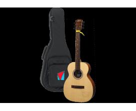 LAG VIAN-001 - Guitare éléctro-acoustique, Gabarit : Travel, Modèle signature VIANNEY