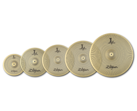 "ZILDJIAN Pack de cymbales Low Volume Serie 468 PRO (10"" splash, 14"" Hats, 16"" Crash, 18"" Crash/Ride, 20"" ride)"