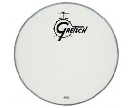 GRETSCH GR881.042 - Peau de résonance blanche siglée GRETSCH 22 pouces