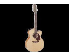 TAKAMINE GJ72CE-12NAT - Guitare jumbo 12 cordes, électro-acoustique, cutaway, Finition : Naturel