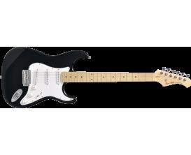 BACCHUS BST-1M BLK - Guitare stratoÏde UNIVERSE SERIE, Peuplier, Maple, BLK