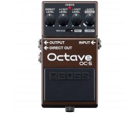 BOSS OC-5 - Pédale octaveur pour guitare ou basse, 3° génération