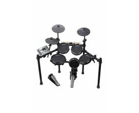 CARLSBRO - CSD401 - Batterie électronique mesh avec 5 fûts et 3 cymbales