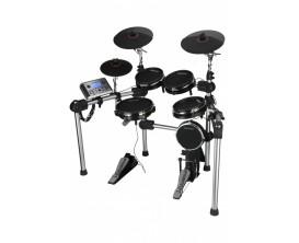 """CARLSBRO - CSD501 - Batterie électronique double zone avec 5 fûts (caisse claire 8""""), 3 cymbales"""