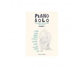 LIBRAIRIE - Piano solos 10 chansons faciles à jouer Vol 1- Répertoire classique françai - Ed: Capte note