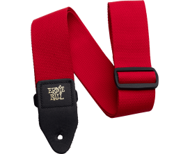 ERNIE BALL 4040 - Sangle Ernie Ball en polypropylène - Rouge