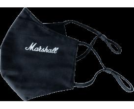 Marshall - YMAR FACEMASK-BK - Masque Marshall noir et logo blanc