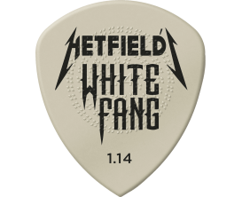 DUNLOP PH122P114 - Hetfield's White Fang - Player's Pack de 6, 1,14mm