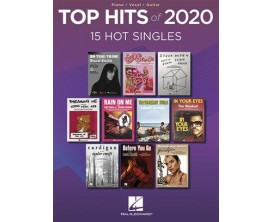 Top Hits of 20120 - HL00355701 - 15 Hot Singles - Piano, Chant et Guitare
