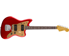 SQUIER 0303101509 - Jazzmaster Deluxe with Tremolo, Candy Apple Red