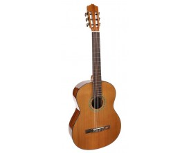 SALVADOR CORTEZ CC-10 - guitare classique 4/4 , table en cèdre, fond & éclisses en sapele, finition brillante, naturelle