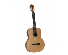 "JUAN SALVADOR 2COP - Guitare Classique 4/4, Table cèdre massif, corps acajou, Naturel ""Open Pore"""