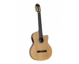 JUAN SALVADOR - JS4CEOP - Guitare Clasique 4/4 , Cèdre massif , Electro-acoustique, Finition naturel