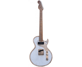 PAOLETTI - PWHBJ02RF - LEATHER SERIES - Richard Fortus Signature Guitar 2 - White