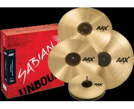 "SABIAN - AAX SET - 25005XCP Set harmonique - Promotional 14""-16""-21"" + crash 18"" FREE"