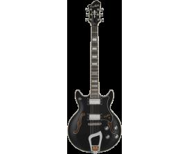 HAGSTROM - HSALVAR09 - Guitare électrique, Alvar, Black
