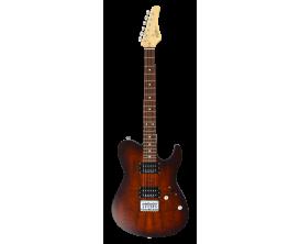 FGN - FGJIL2EW1GIBS - Guitare électrique, J-Standard Iliad EW, Imbuia Brown Sunburst, Housse