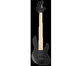 FGN - FGJMJ5DEMOPB - Guitare basse,J-Standard Mighty Jazz 5 Dark Evo,Open Pore Black,5-S.,Housse