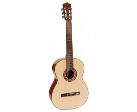 SALVADOR CORTEZ CS-25 - Guitare classique, table en épicéa massif, fond & éclisses en mutenyé, finition brillante, naturel
