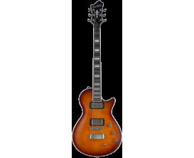 HAGSTROM - HSULTRAMAX43 - Guitare électrique, Ultra Max, Golden Eagle Burst Gloss