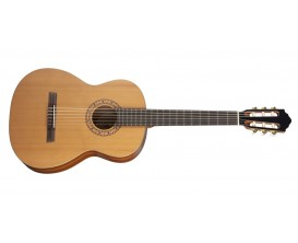 HOFNER HZ-25 - Guitare classique Taille: 4/4 Table en cèdre massif AAA (Housse fournie)