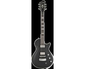 HAGSTROM - HSULTRAMAX42 - Guitare électrique, Ultra Max, Black Satin