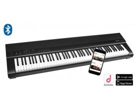 MEDELI - SP 201+/BK - piano numérique de scène, 88 touches hammer action, (K6), 2x20W, avec bluetooth, NOIR