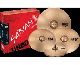 "SABIAN - B8X - 45003XG Set harmonique - Promo 14""-16""-20"" + crash 18"" offerte"