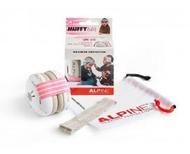 ALPINE Muffy Rose - ALP-MUF/BBP - Protection auditive pour bébé
