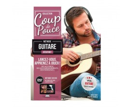 Coup De Pouce Debutant Guitare Folk avec DVD