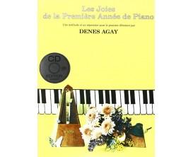 Les joies de la première année de piano (Avec CD) - Denes Agay - Ed : EMF